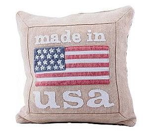 Kudde Made in USA beige